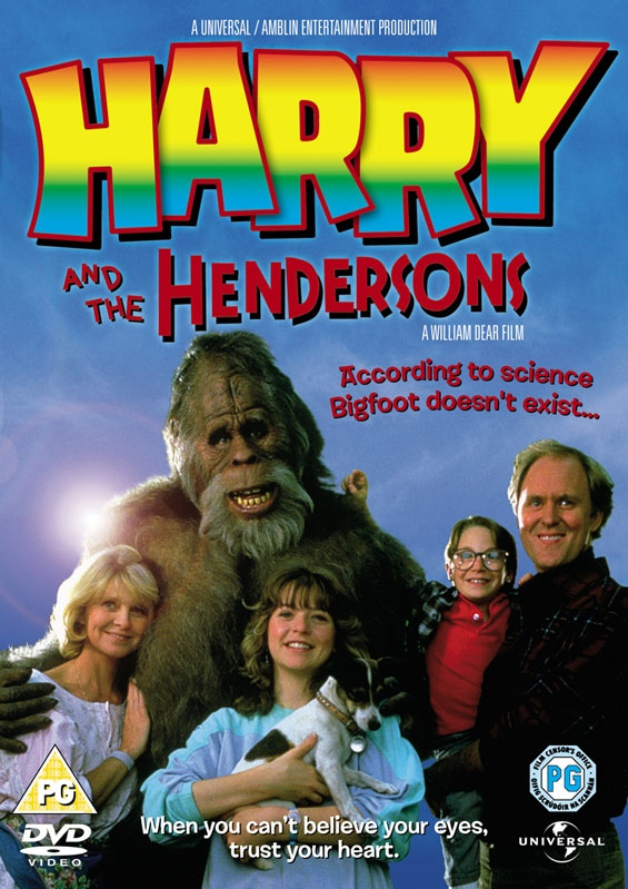 Bigfoot In Harry And The Hendersons